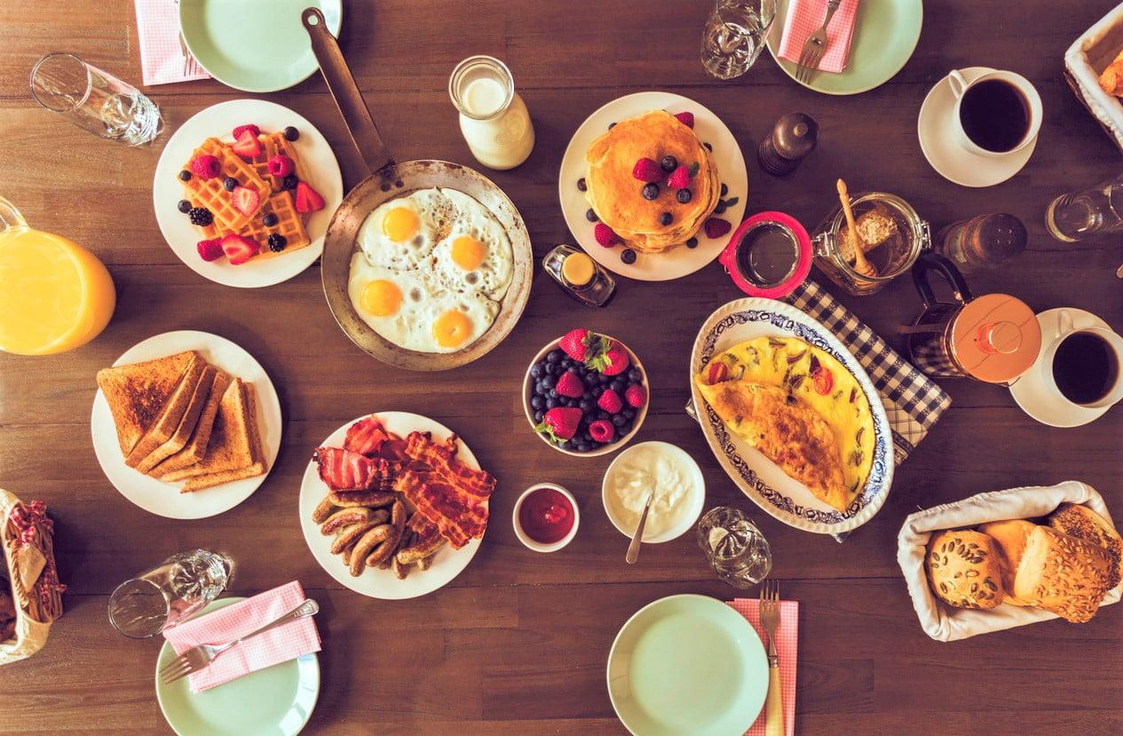 πρωινό στον κόσμο