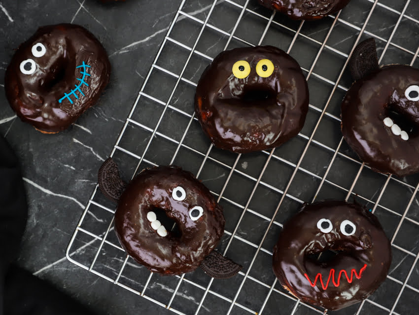 Halloween donuts by Giorgos Tsoulis