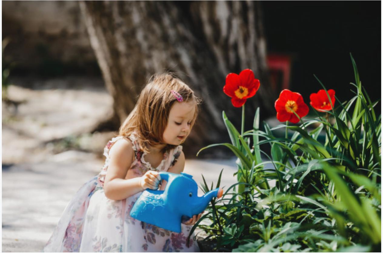 κηπουρική παιδιά