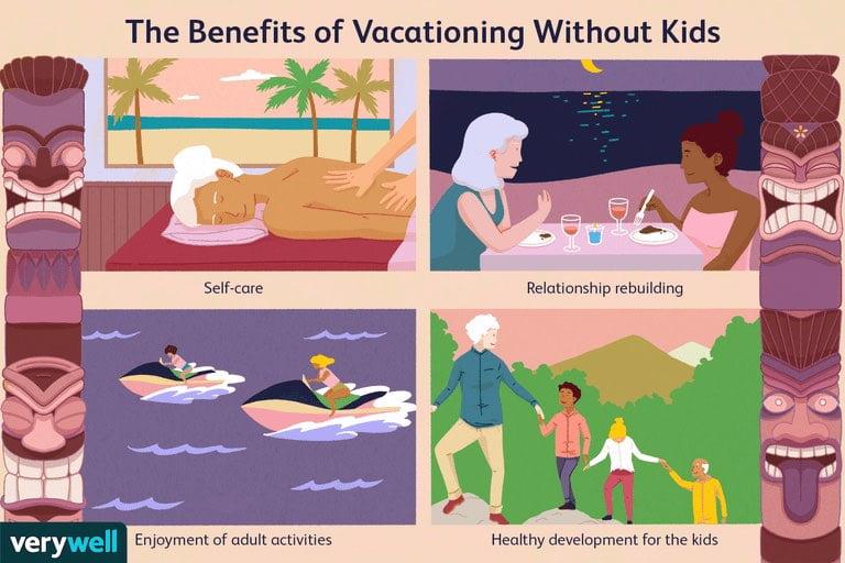 Γιατί να επιλέξετε να κάνετε διακοπές χωρίς τα παιδιά; Δείτε τους λόγους